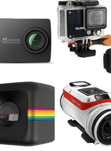 As melhores alternativas baradas a GoPro