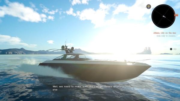 FFXV-Boat