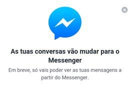 Facebook Messenger Bloqueio
