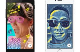 facebook messenger filtros e mascaras