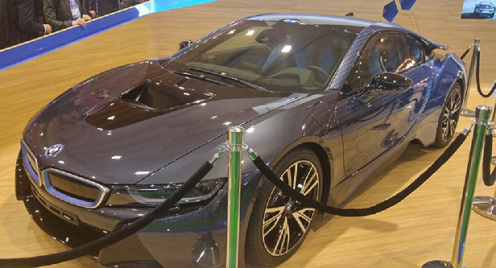 Web Summit BMW i8