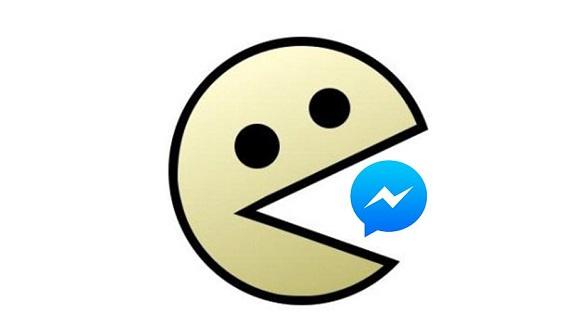Facebook Messenger Pac Man