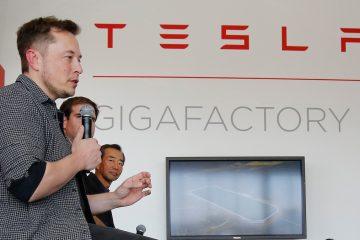 Elon Musk Tesla Gigafactory