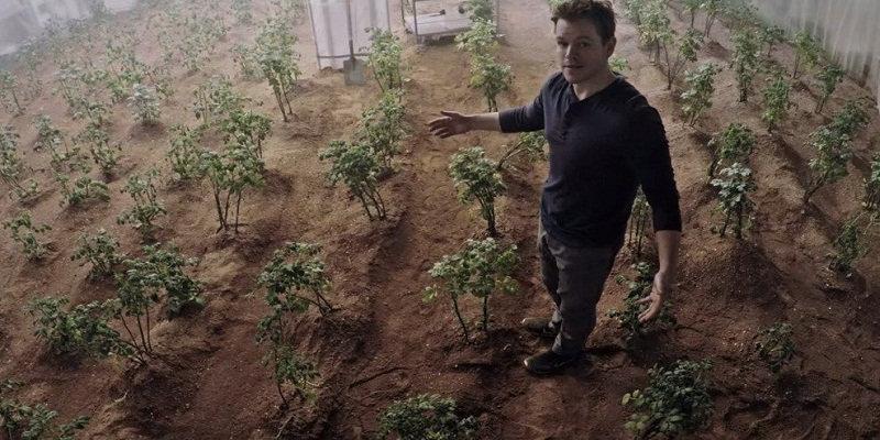 Colonizar Marte por Elon Musk com Matt Damon