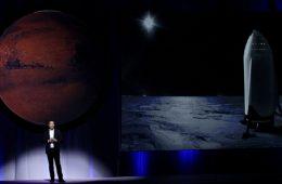 Marte e Elon Musk