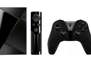 nvidia shield tv console