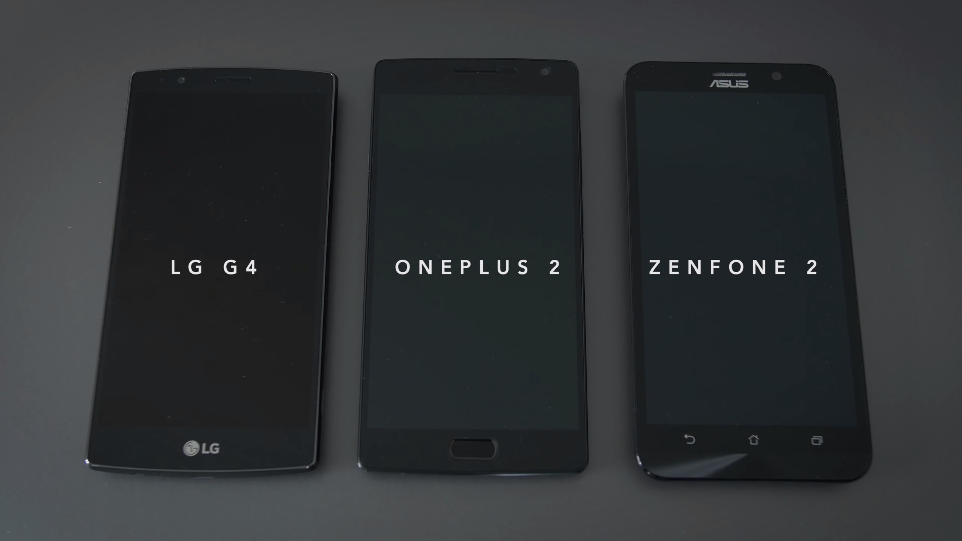 LG G4 vs OnePlus Two vs Zenphone 2
