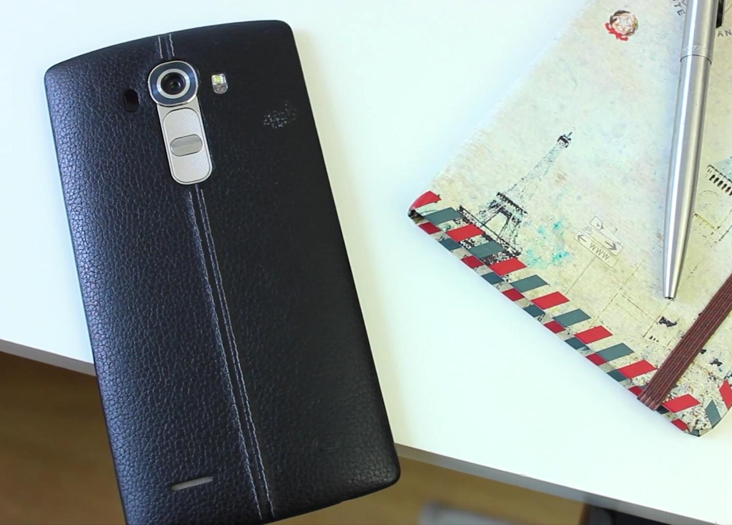 LG G4 carcaca