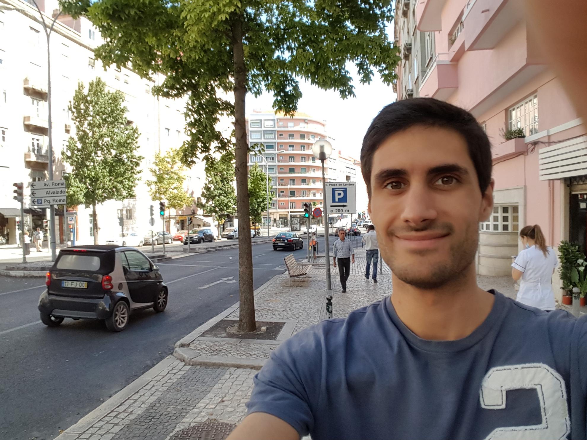 Selfie Samsung Galaxy S6 Edge+