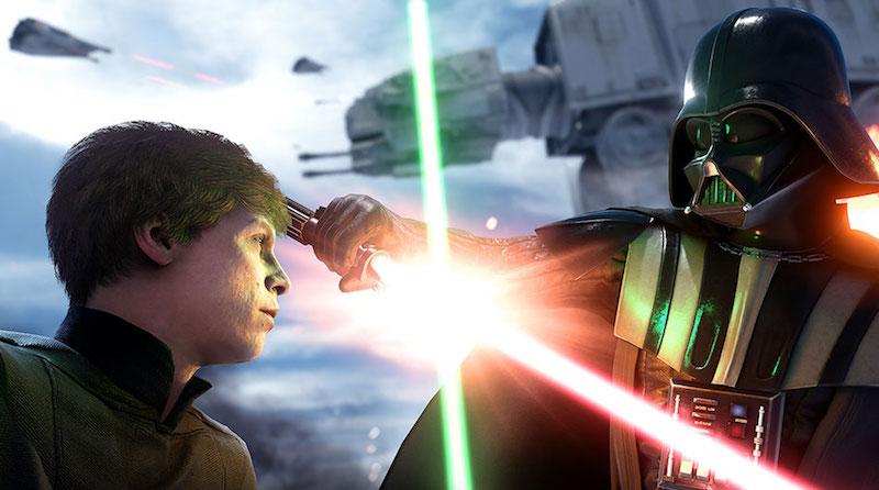 Luke_vs_Vader_Star Wars Battlefront EA