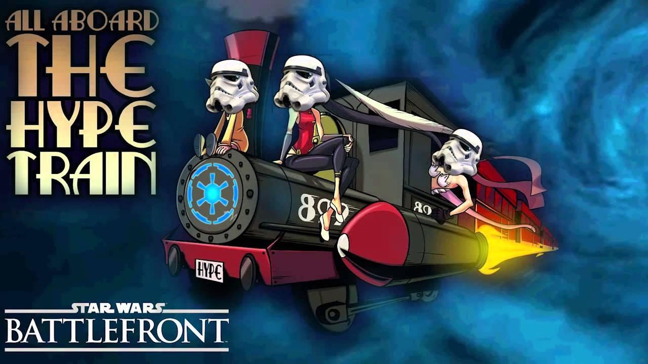 star wars battlefront hype train