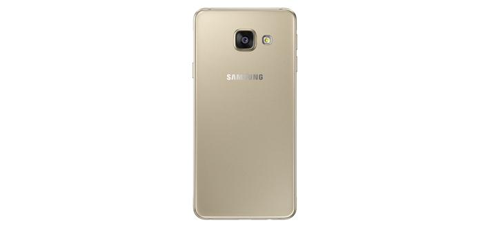 Galaxy A3 Dourado