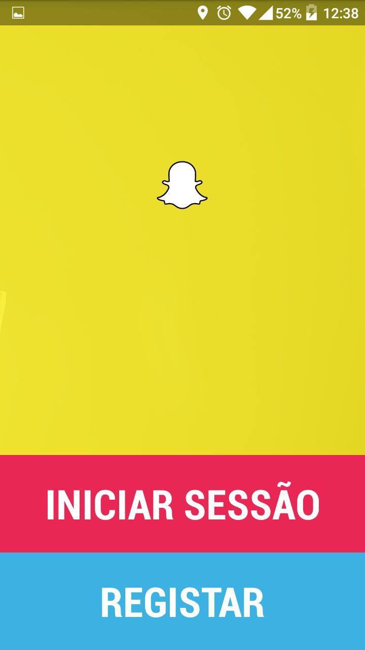 Snapchat duplicado! Funciona sem problemas