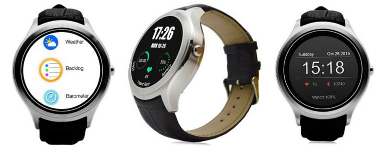 NO.1 D5 Android 4.4 Smart Watch