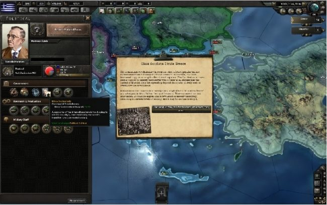 hearts of iron 4 grecia guerra civil