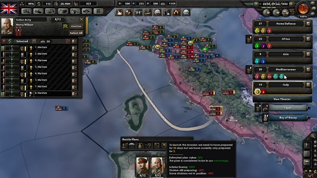 hearts of iron 4 invasoes