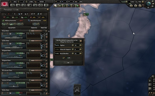 hearts of iron 4 porta-avioes