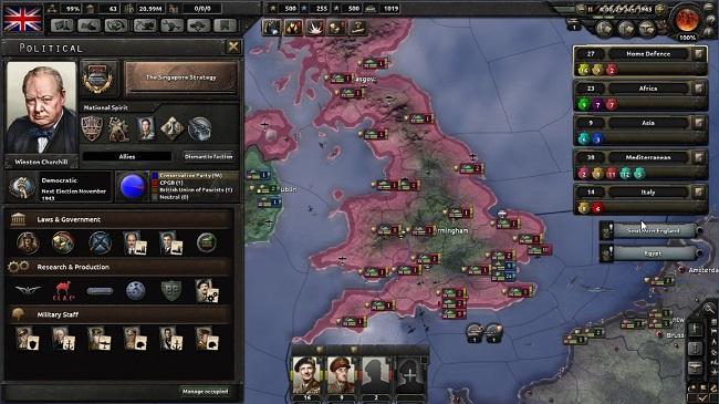 hearts of iron 4 reino unido