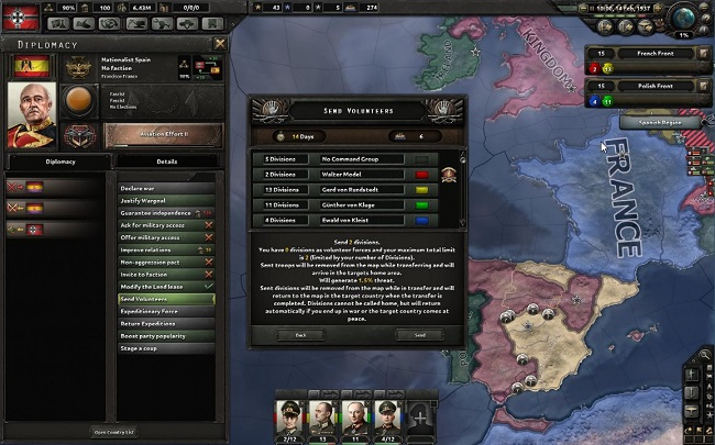 hearts of iron 4 voluntarios