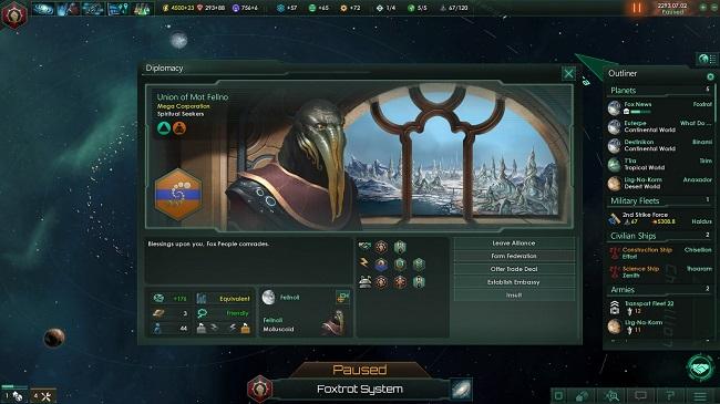 stellaris diplomacia