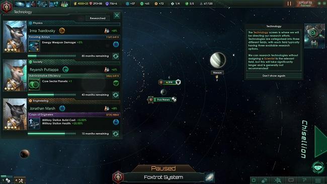 stellaris tecnologias