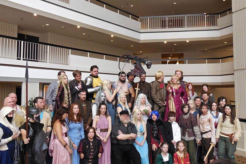 As convenções americanas Ice & Fire Con e Con of Thrones