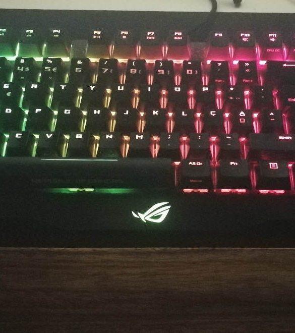 db72d455c145 Asus ROG Claymore - análise a um teclado mecânico do bufo!