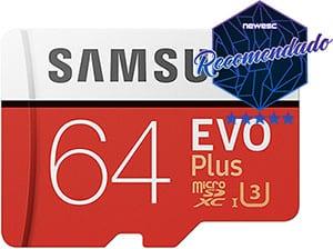 Cartão de memoria Samsung EVO Plus