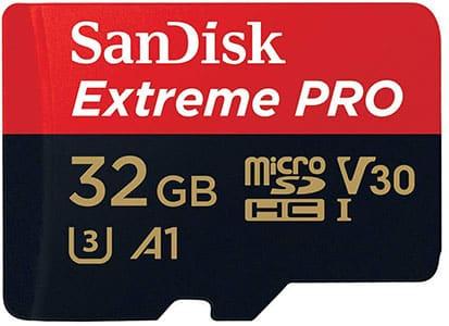 Cartão de memoria SanDisk Extreme PRO