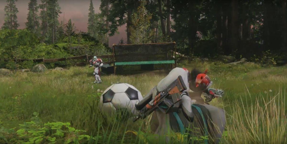 Destiny 2 futebol