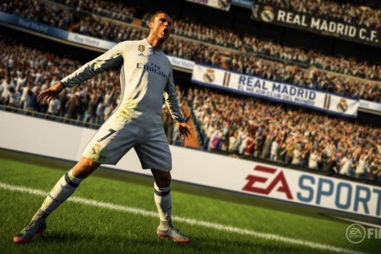 EA FIFA 18 CRISTIANO RONALDO #3[17189]