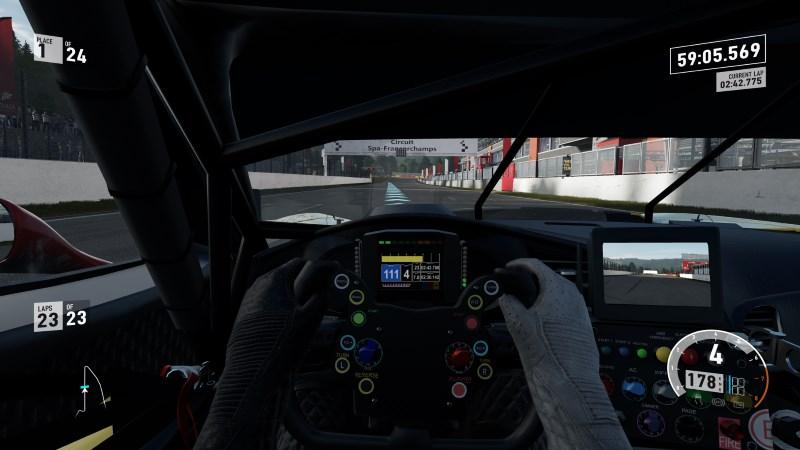 Forza 7 cockpit