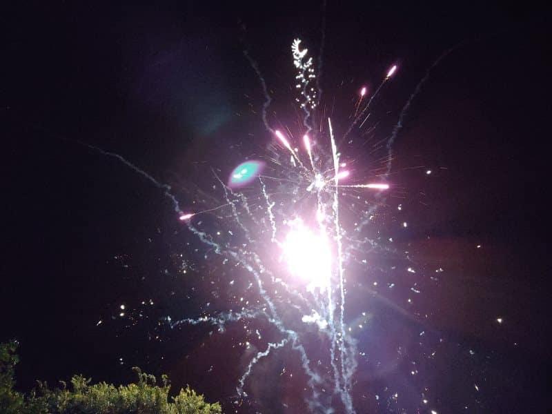 G7 fireworks