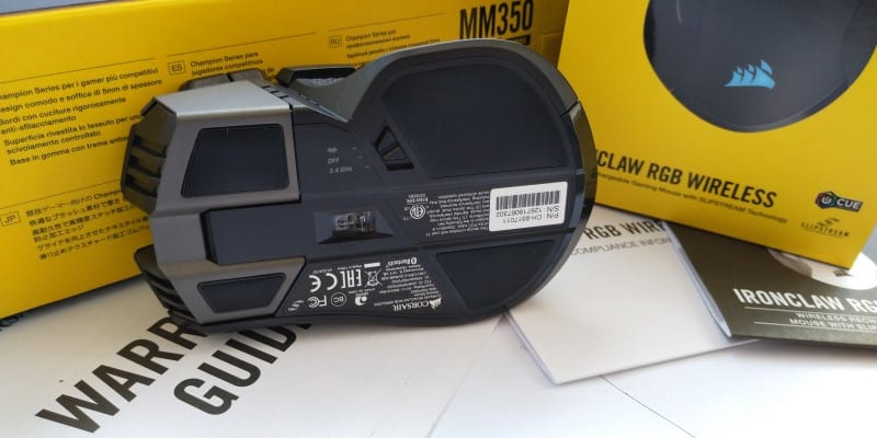 Ironclaw Wireless Baixo