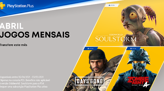 Jogos Abril PlayStation Plus 210835