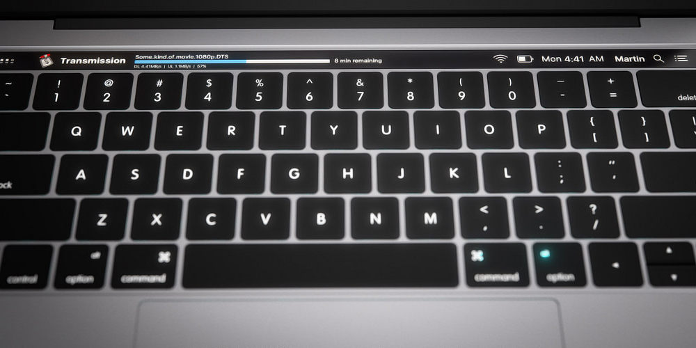 MacBook Pro Touch led Bar