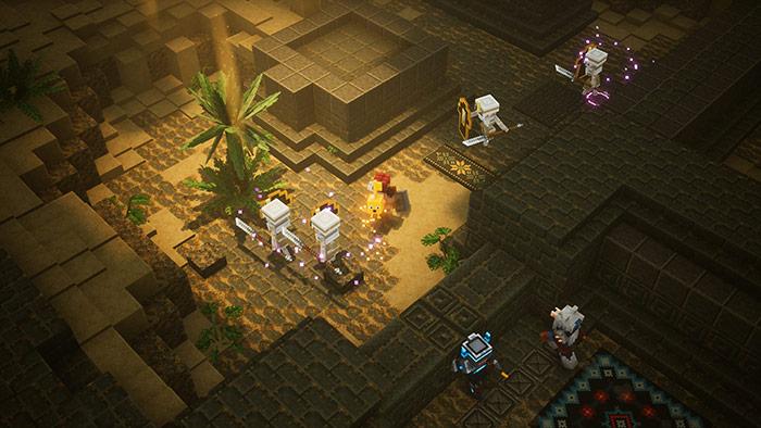 Minecraft dungeons 4