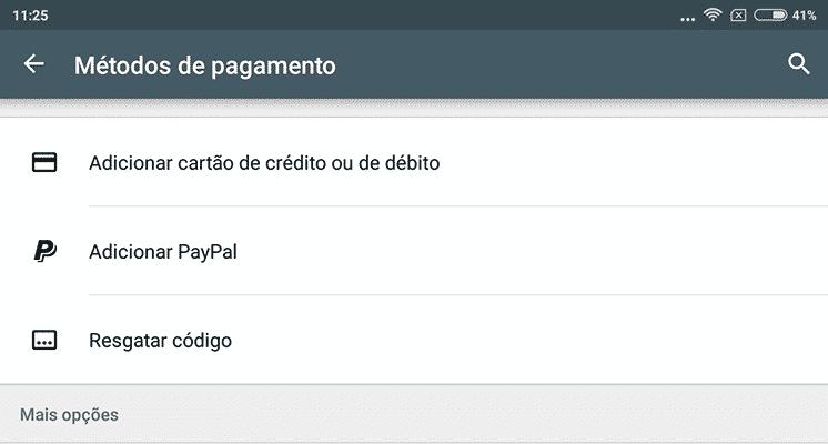 Paga as tuas compras com PayPal