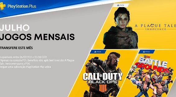 PlayStation Plus Julho 119554