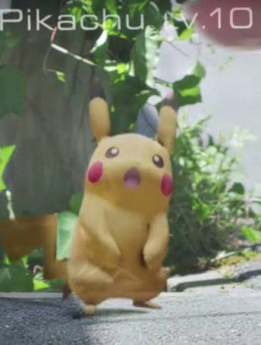Pokémon Go capturar o Pikachu