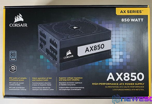REVIEW CORSAIR AX850 Wallpaper