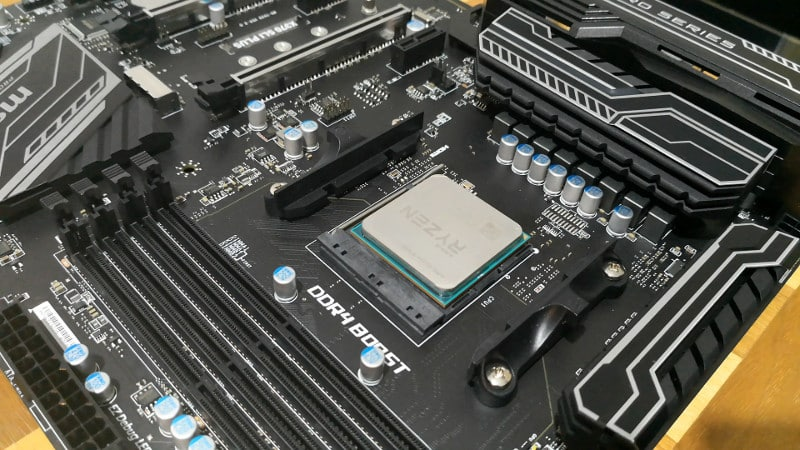 Review AMD Ryzen 5 1600 na placa