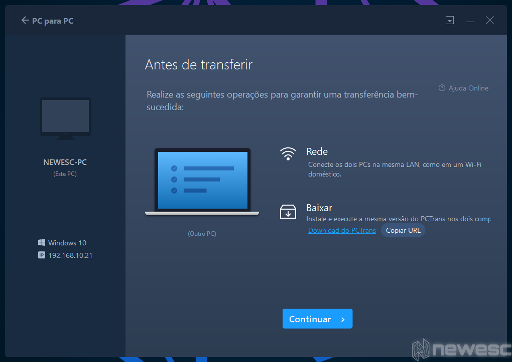 Review EaseUS Todo PCTrans Pc para PC 2