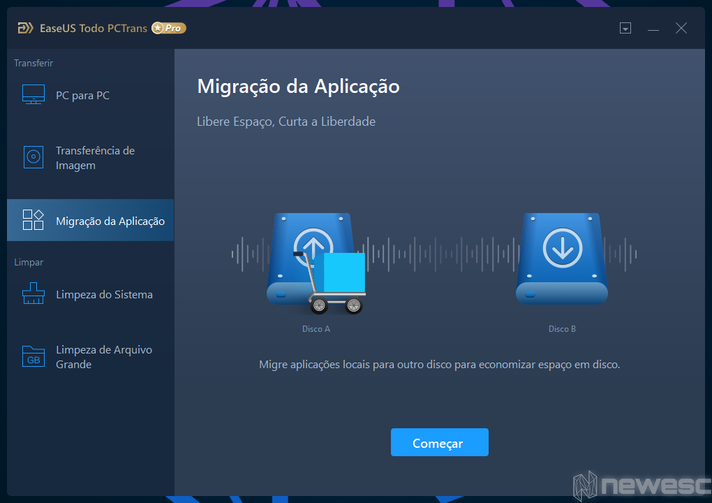 Review EaseUS Todo PCTrans migrar apps