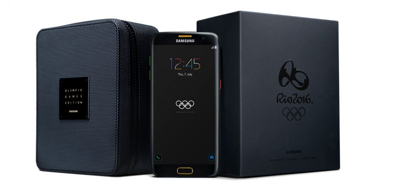 Samsung S7 Edge Jogos olimpicos
