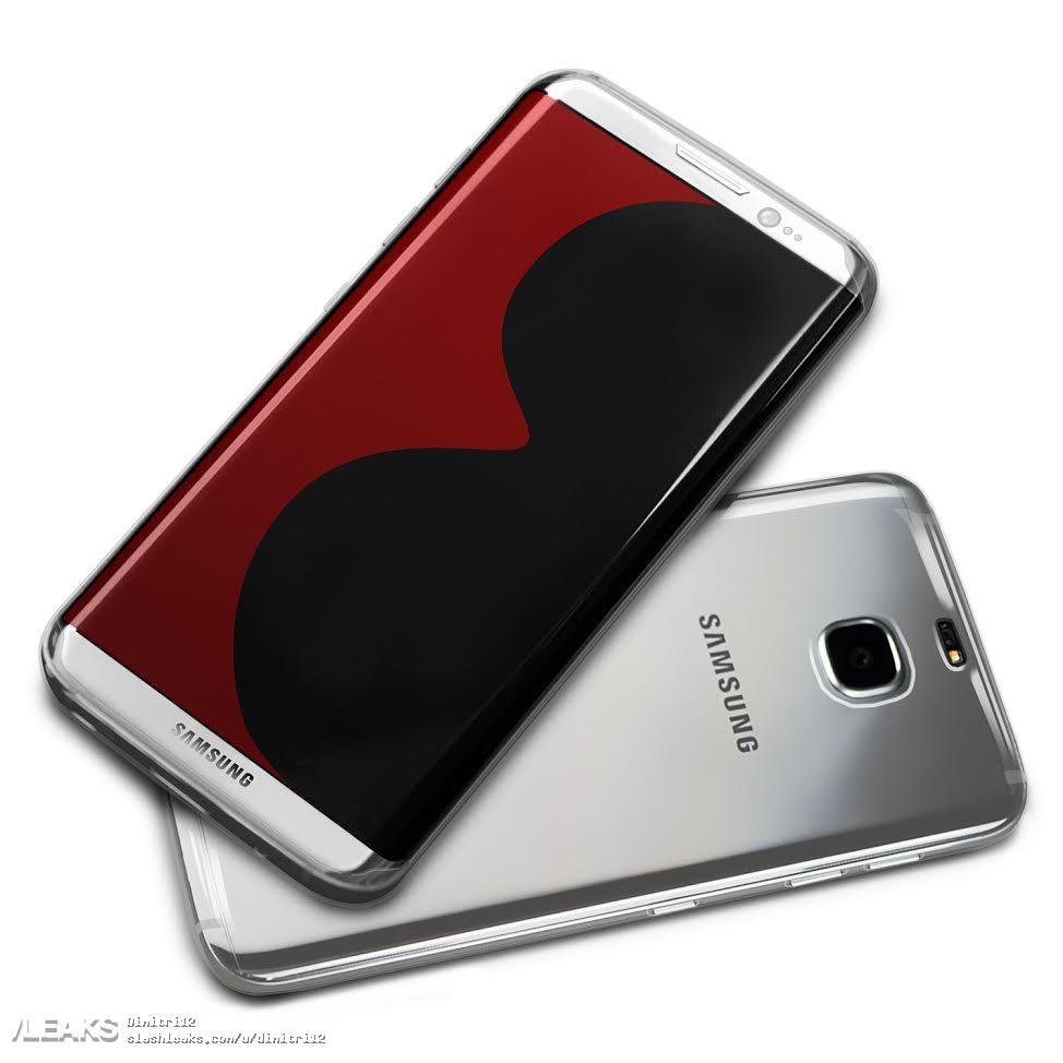 Samsung S8 Render 1