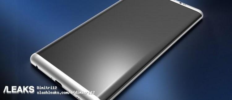 Samsung S8 Render 2