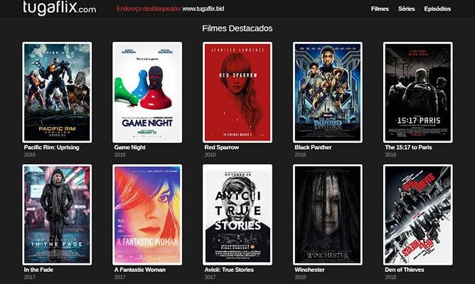 Ver Filmes Online legendados TugaFlix