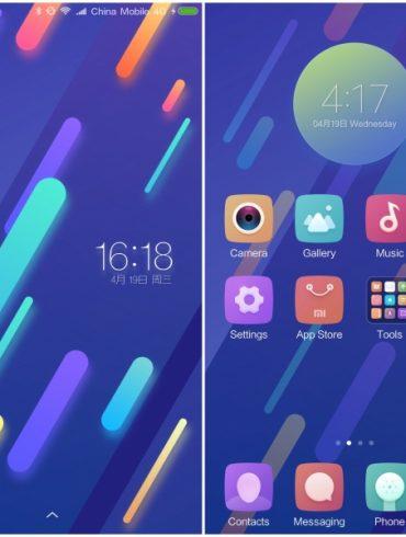 Xiaomi Mi 6 Tema pantalla