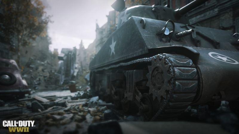 cod ww2 tank